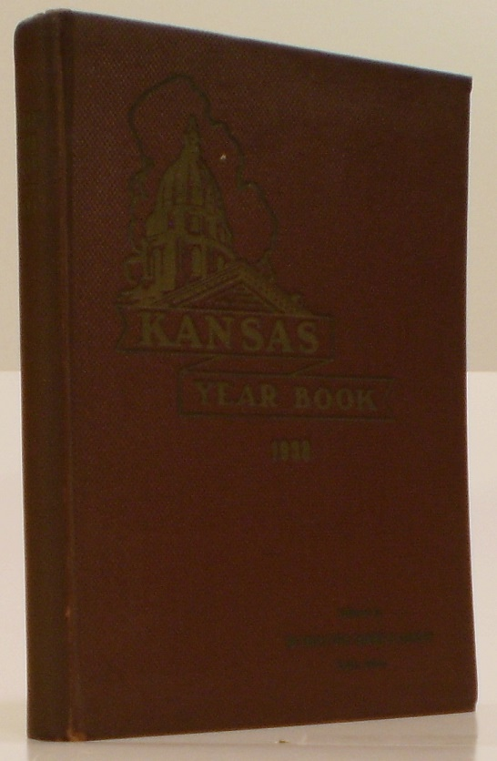 Image for Kansas Year Book 1937-1938