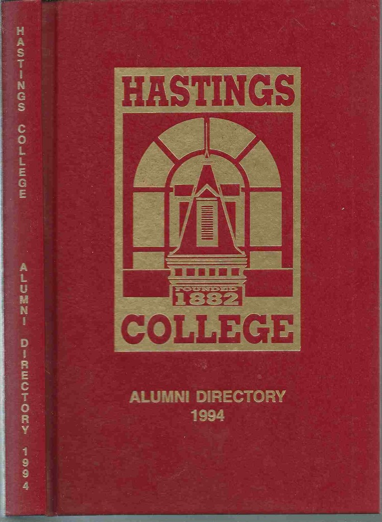 Image for Hastings College Alumni Directory 1994