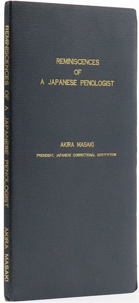 Image for Reminiscences of a Japanese Penologist