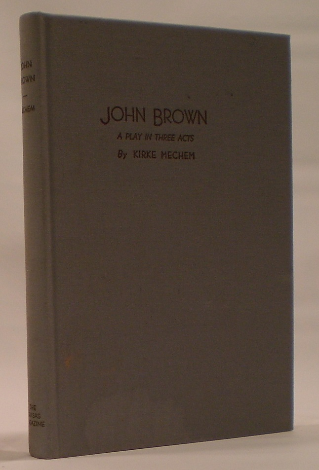 Image for John Brown A Play in Three Acts
