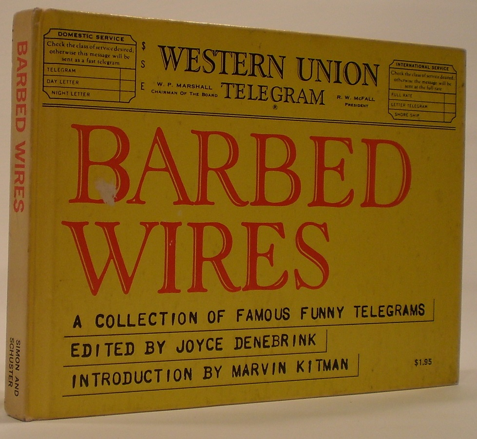 Image for Barbed Wires A Collection of Famous Funny Telegrams