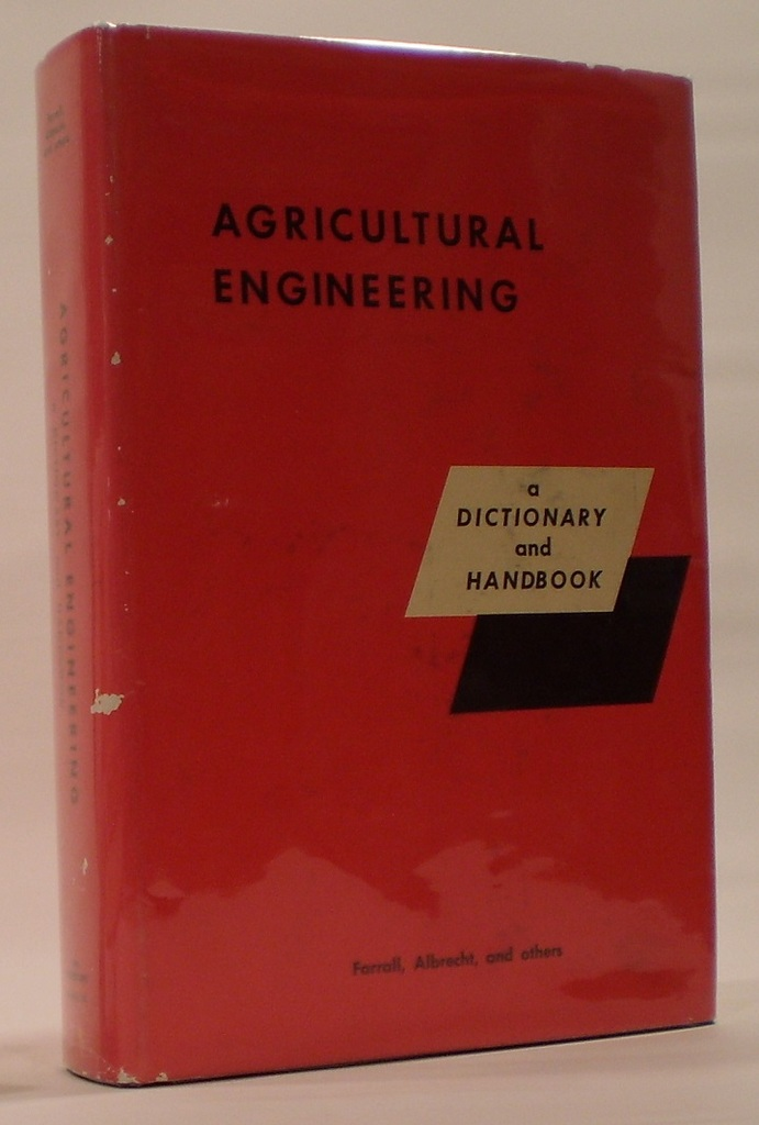 Image for Agricultural Engineering a Dictionary and Handbook