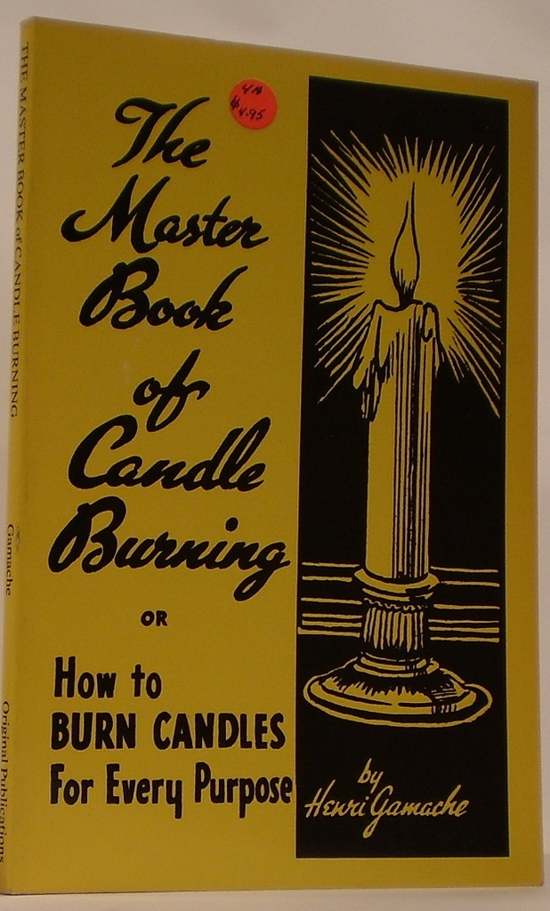 Image for Master Book of Candle Burning