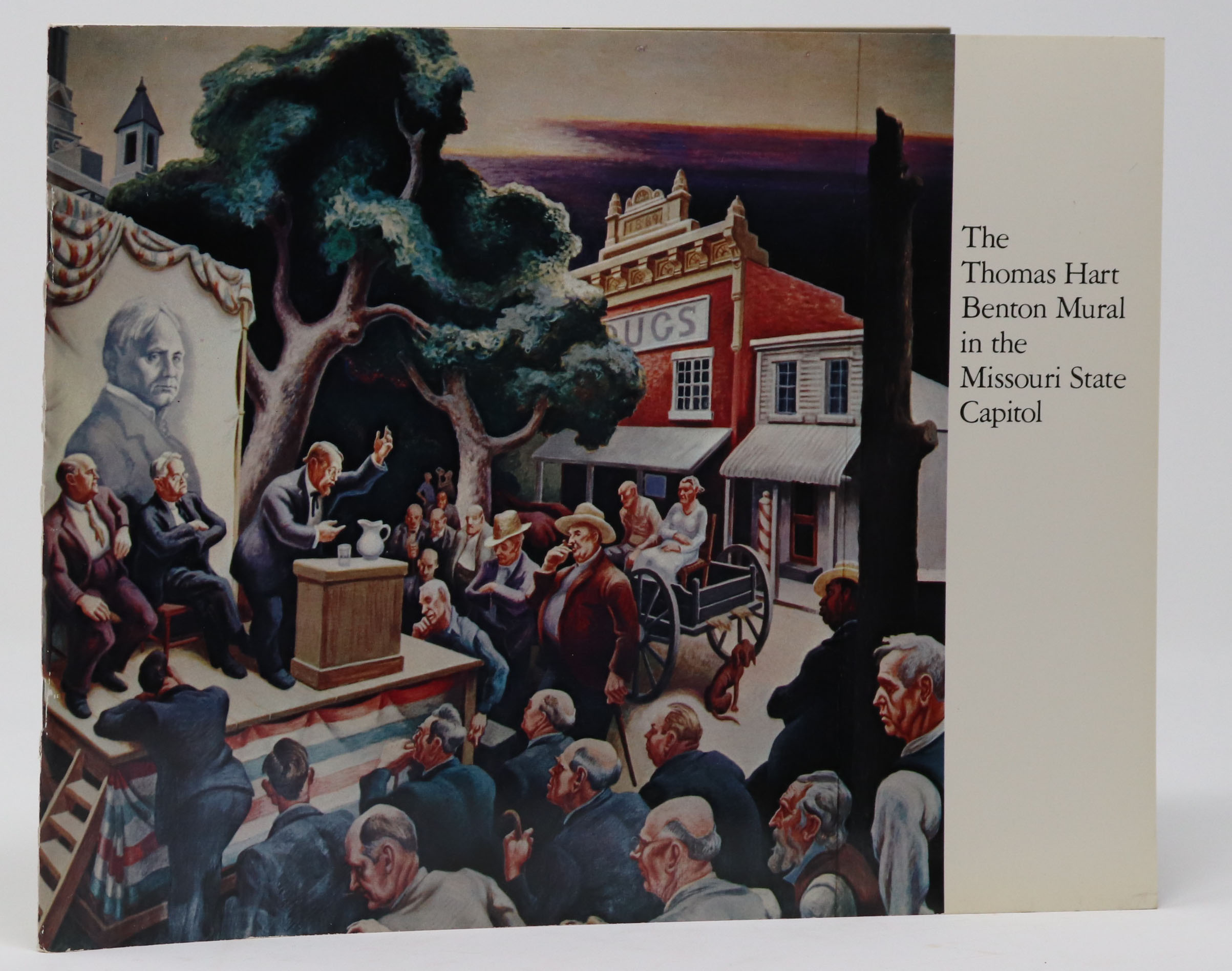 Image for The Thomas Hart Benton Murals in the Missouri State Capitol A Social History of the State of Missouri
