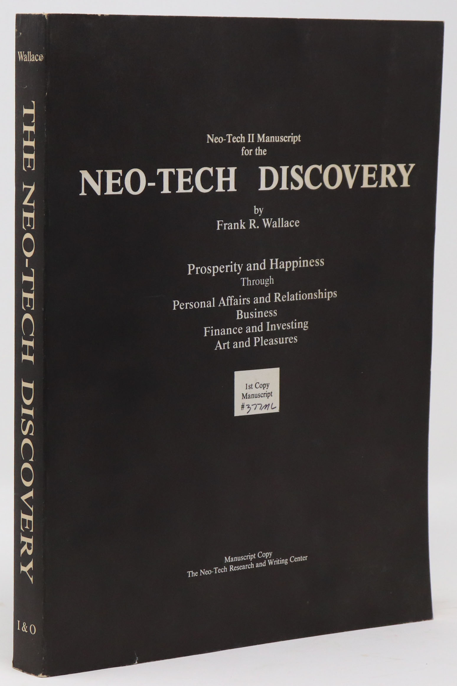 Image for Neo-Tech II Manuscript for the Neo-Tech Discovery