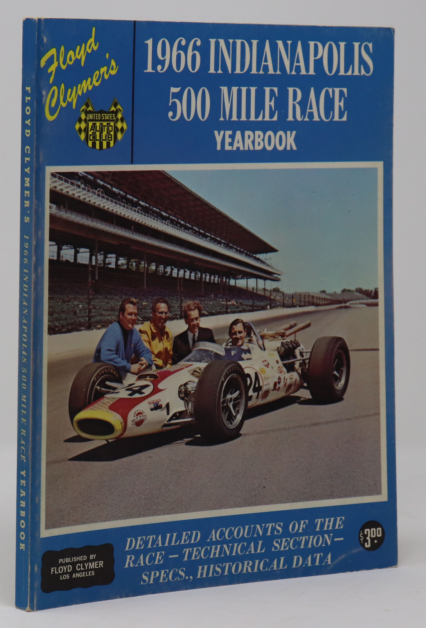 Image for 1966 Indianapolis 500 Mile Race Yearbook.