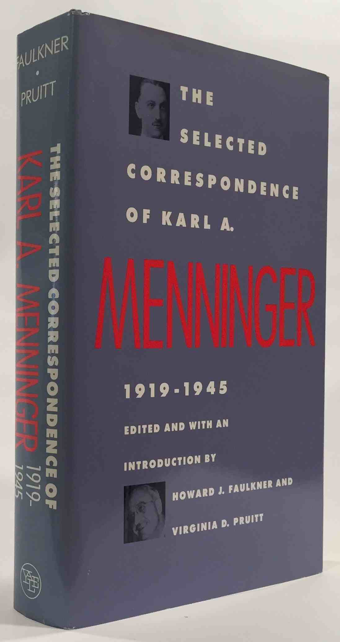 Image for The Selected Correspondence of Karl A. Menninger  1919-1945