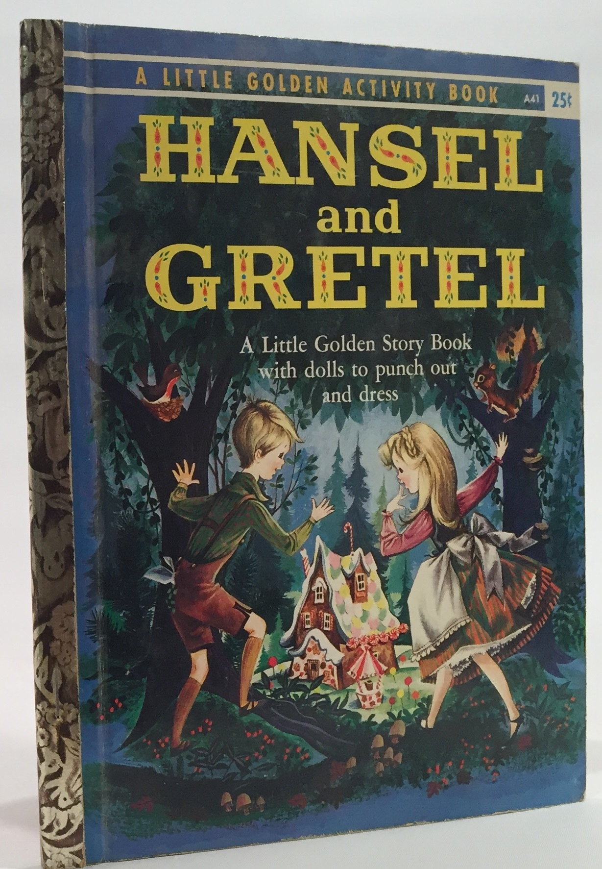 Image for Hansel and Gretel A Paper Doll Story Book