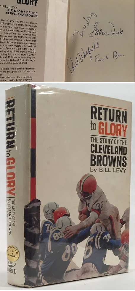 Image for Return to Glory The Story of the Cleveland Browns