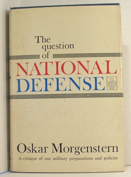 Image for The Question of National Defense
