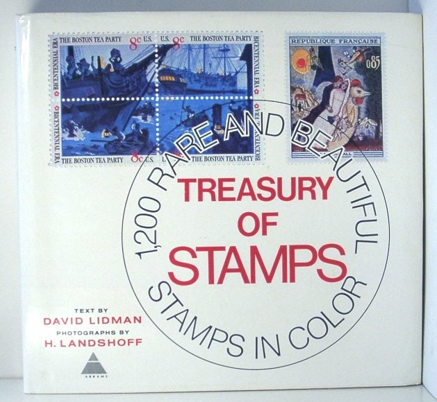 Image for Treasury of Stamps: 1, 200 Rare and Beautiful Stamps in Color