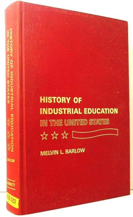 Image for History of Industrial Education in the United States