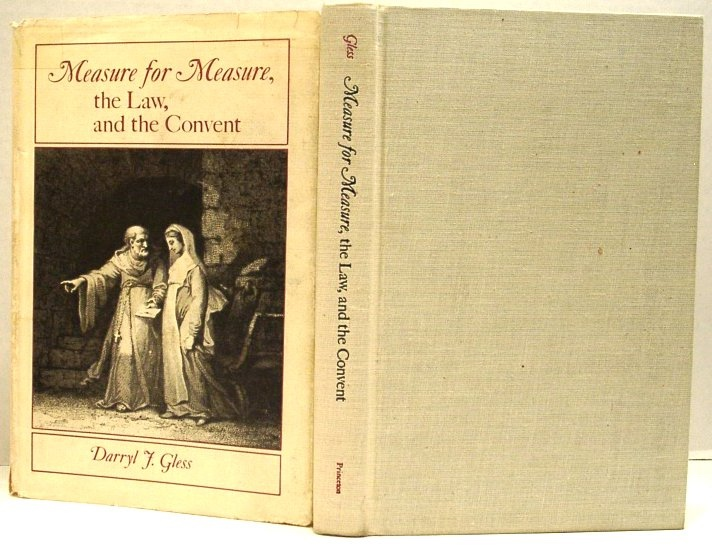Image for Measure for Measure, the Law, and the Convent