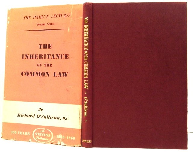Image for The Inheritance of the Common Law (The Hamlyn Lectures. Second Series)