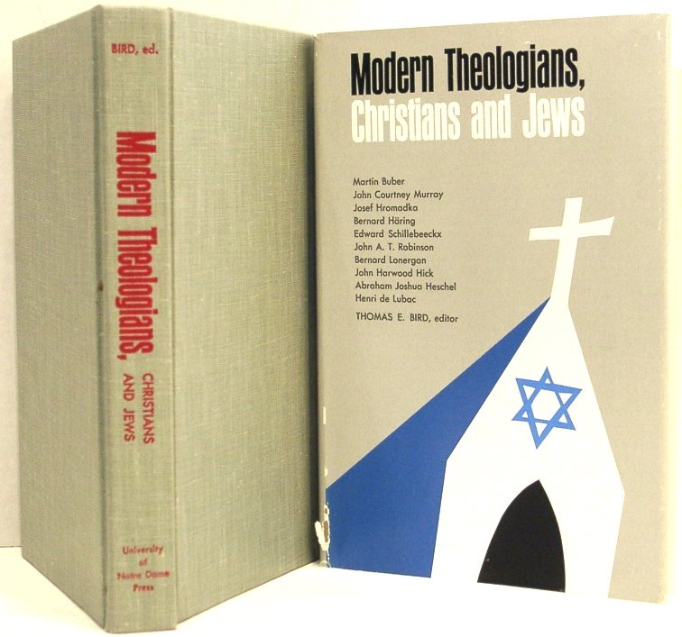 Image for Modern Theologians: Christians and Jews (Theology Today Vol. 2)