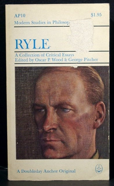 Image for Ryle: a Collection of Critical Essays (Modern Studies in Philosophy)