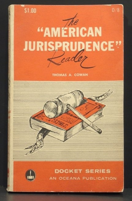 Image for The American Jurisprudence Reader. Docket Series (Volume 8)