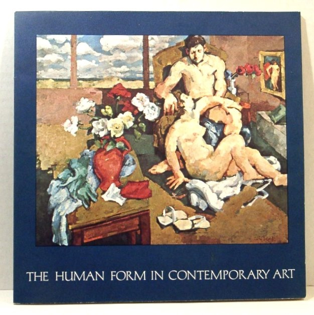 Image for The Human Form in Contemporary Art. Paintings by Rosmarie Beck, Sculpture by Richard A. Miller. March 21 - April 23, 1971