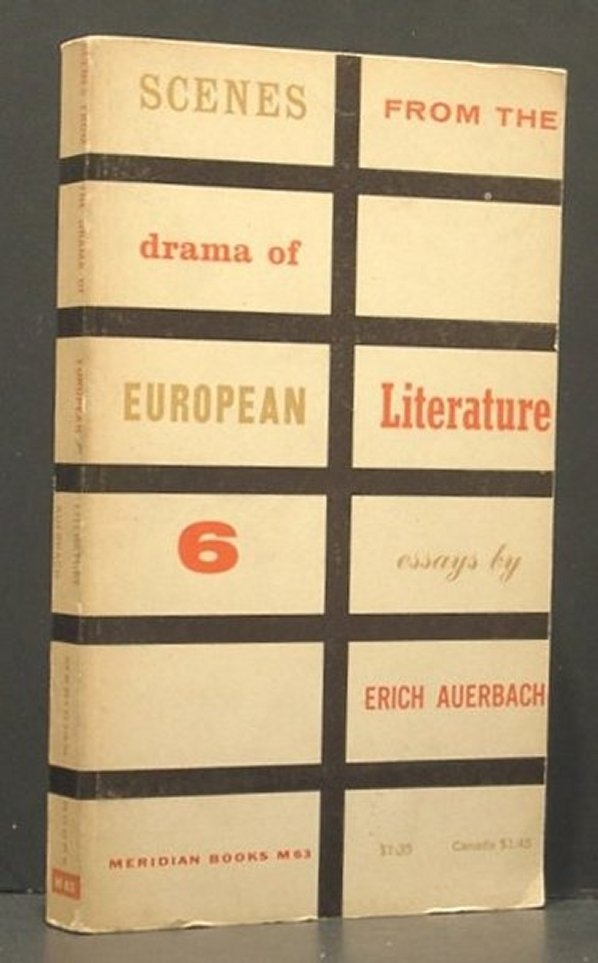 Image for Scenes from the Drama of European Literature; Six Essays