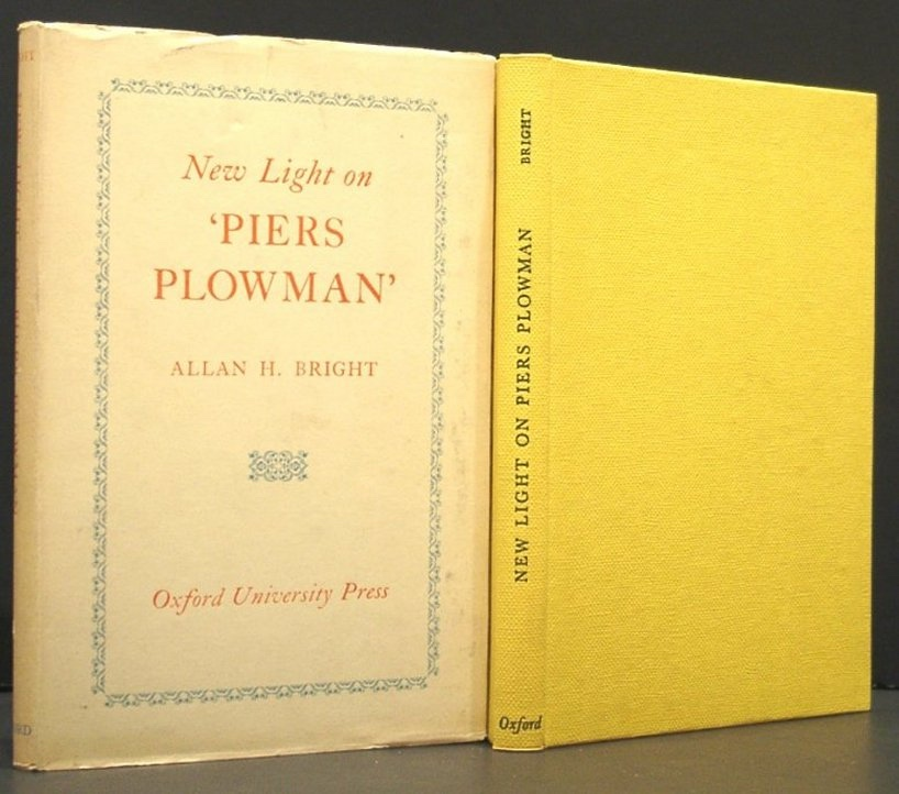 Image for New Light on 'piers Plowman'