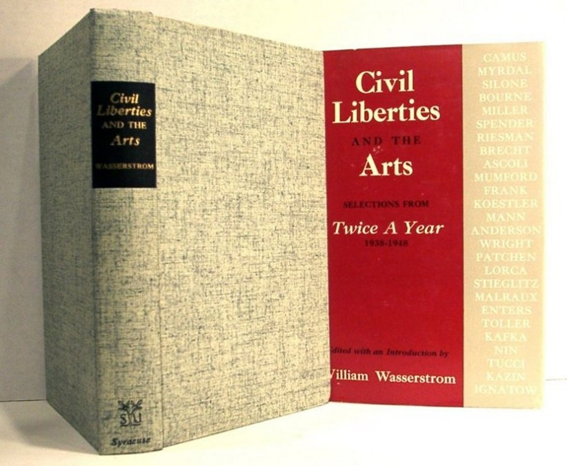 "Image for Civil Liberties and the Arts. Selections from ""Twice a Year"" 1938-48"