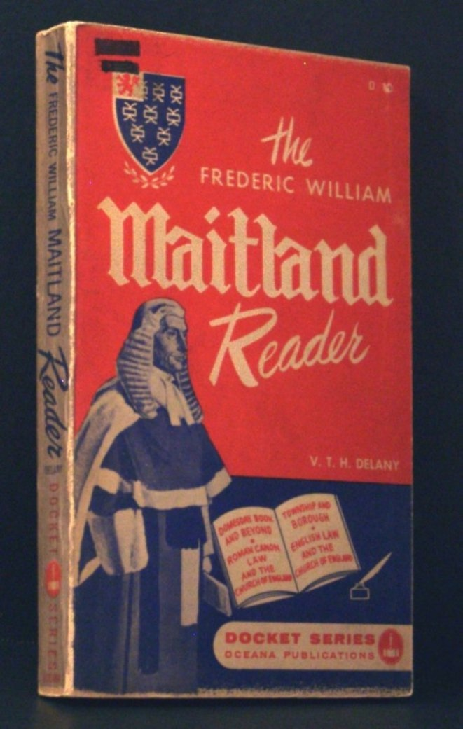 Image for The Frederic William Maitland Reader (Docket Series Vol. 10)