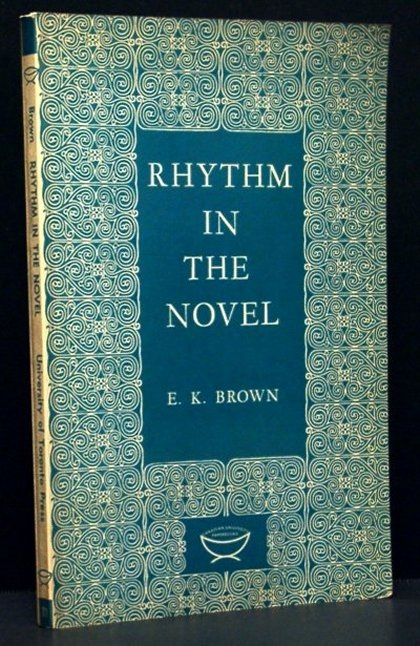 Image for Rhythm in the Novel (The Alexander Lectures)