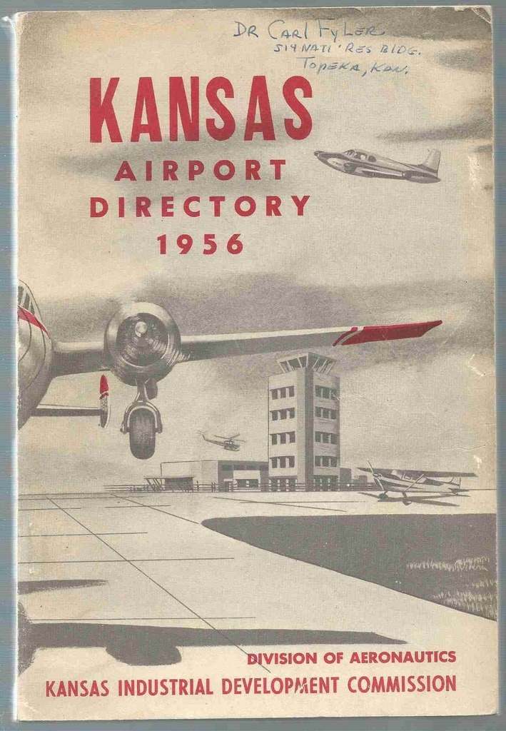 Image for Kansas Airport Directory 1956